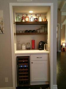 17 Easy DIY Mini Coffee Bar Ideas For Your Home 35