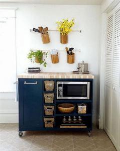 17 Elegant First Apartment Small Kitchen Bar Design Ideas 20