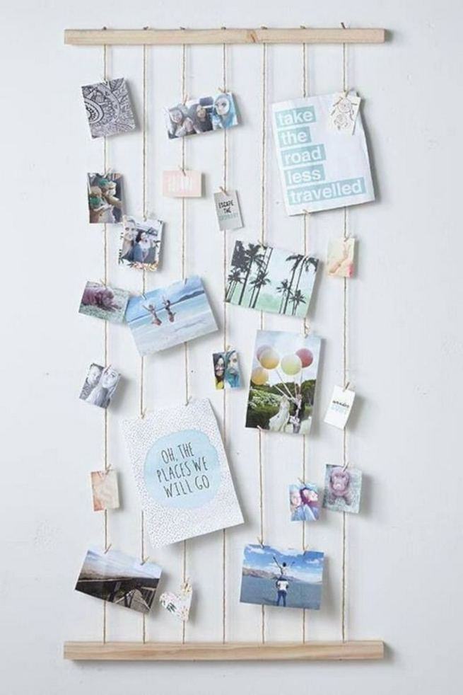 18 Creative Photo Wall Display Ideas You Should Try 05