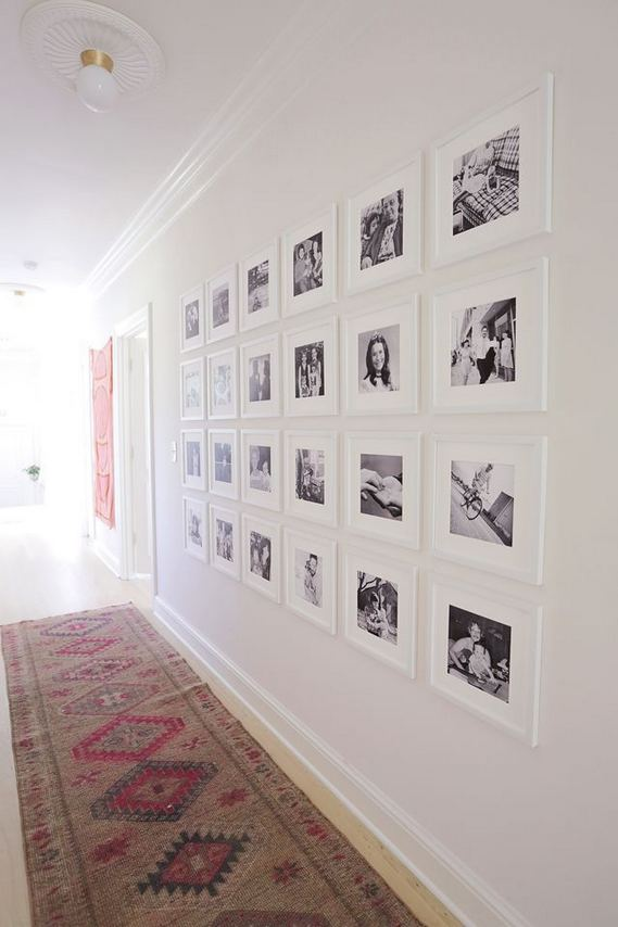 18 Creative Photo Wall Display Ideas You Should Try 19
