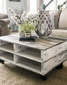 19 Easy DIY Coffee Table Inspiration Ideas 03