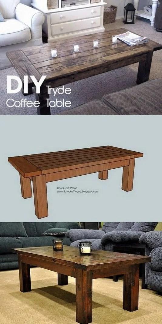 19 Easy DIY Coffee Table Inspiration Ideas 11