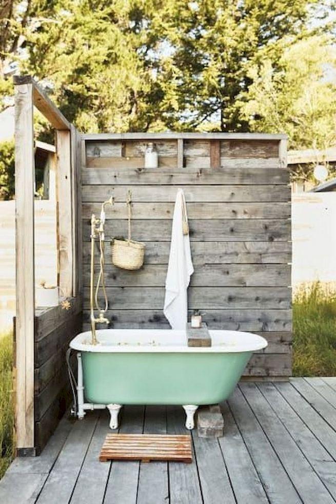 19 Inspiring Outdoor Shower Design Ideas 11
