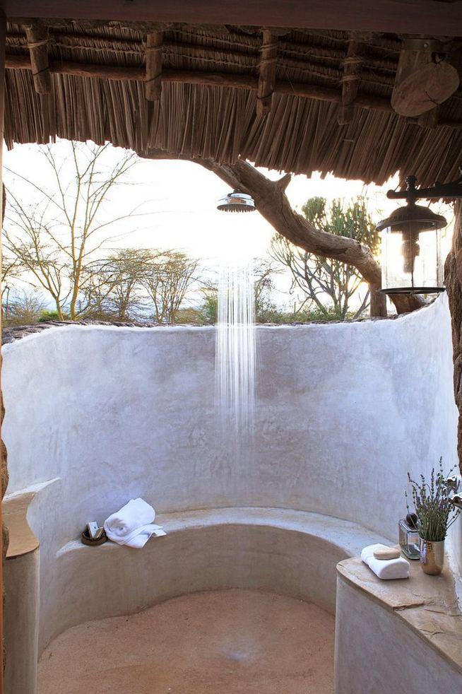 19 Inspiring Outdoor Shower Design Ideas 15