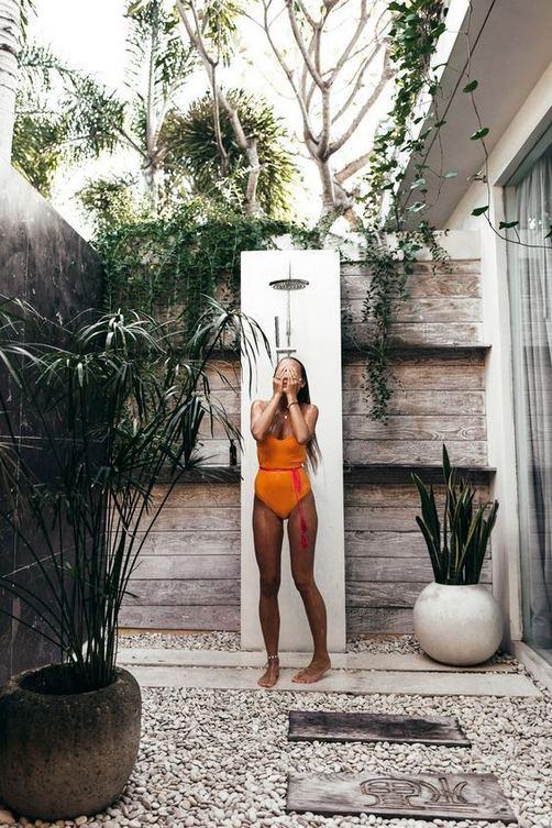 19 Inspiring Outdoor Shower Design Ideas 25