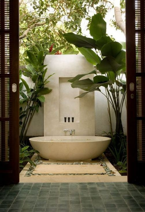 19 Inspiring Outdoor Shower Design Ideas 28