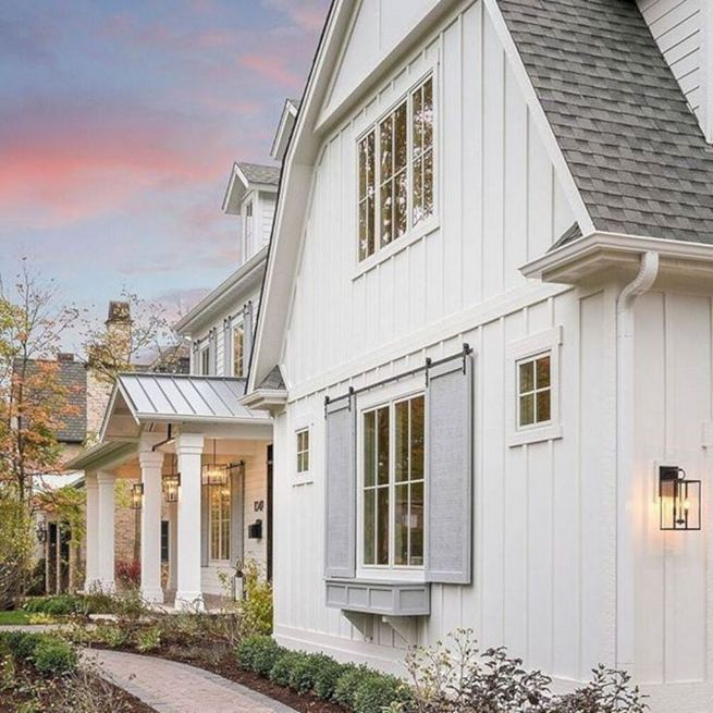 21 Amazing Rustic Farmhouse Exterior Designs Ideas 14
