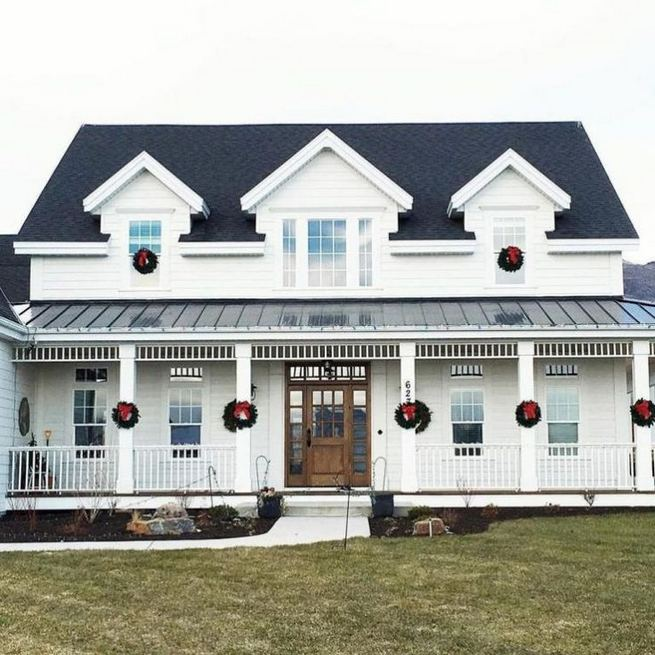 21 Amazing Rustic Farmhouse Exterior Designs Ideas 15