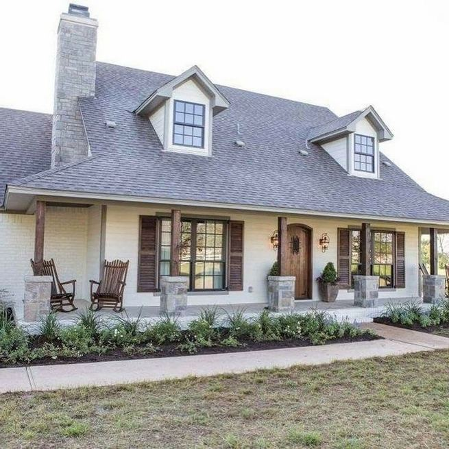 21 Amazing Rustic Farmhouse Exterior Designs Ideas 32