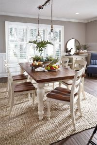 21 Vintage DIY Dining Table Design Ideas 07
