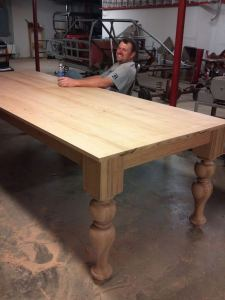 21 Vintage DIY Dining Table Design Ideas 19