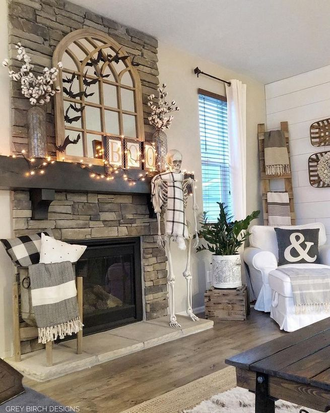 21 Warm And Cozy Farmhouse Style Living Room Decor Ideas 05