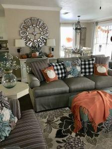 21 Warm And Cozy Farmhouse Style Living Room Decor Ideas 10