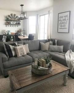 21 Warm And Cozy Farmhouse Style Living Room Decor Ideas 33