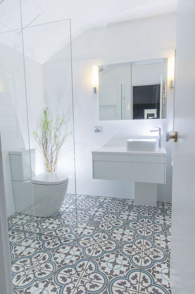 12 Best Inspire Bathroom Tile Pattern Ideas 35