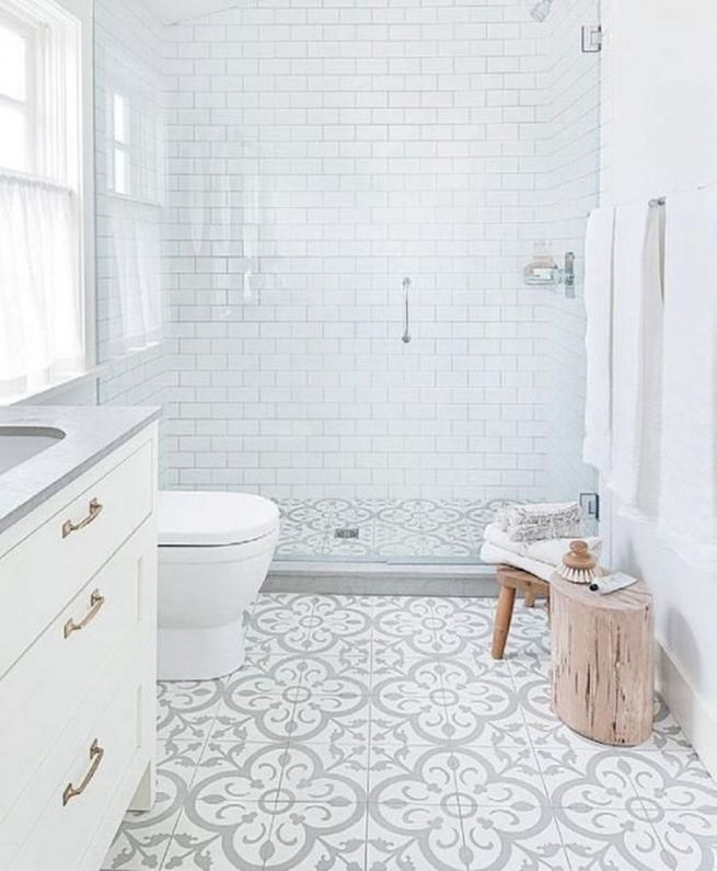 12 Best Inspire Bathroom Tile Pattern Ideas 36