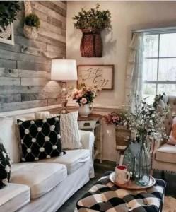 13 Cozy Farmhouse Living Room Decor Ideas 08
