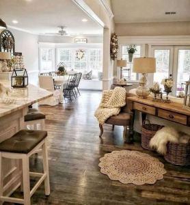 13 Cozy Farmhouse Living Room Decor Ideas 32