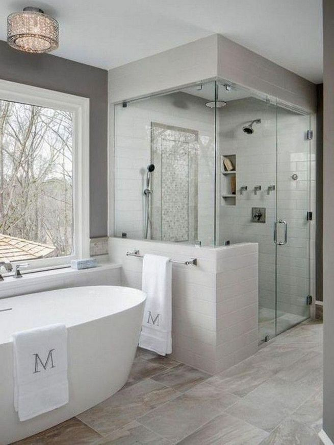 14 Beautiful Master Bathroom Remodel Ideas 40
