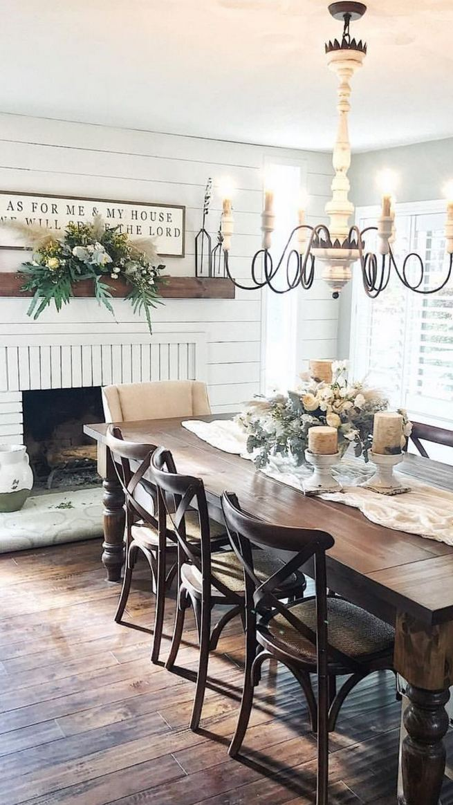 14 Incredible Rustic Dining Room Table Decor Ideas 06