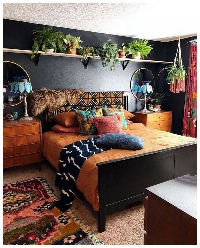 19 Creative DIY Bohemian Bedroom Decor Ideas 04