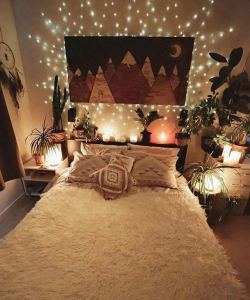 19 Creative DIY Bohemian Bedroom Decor Ideas 23