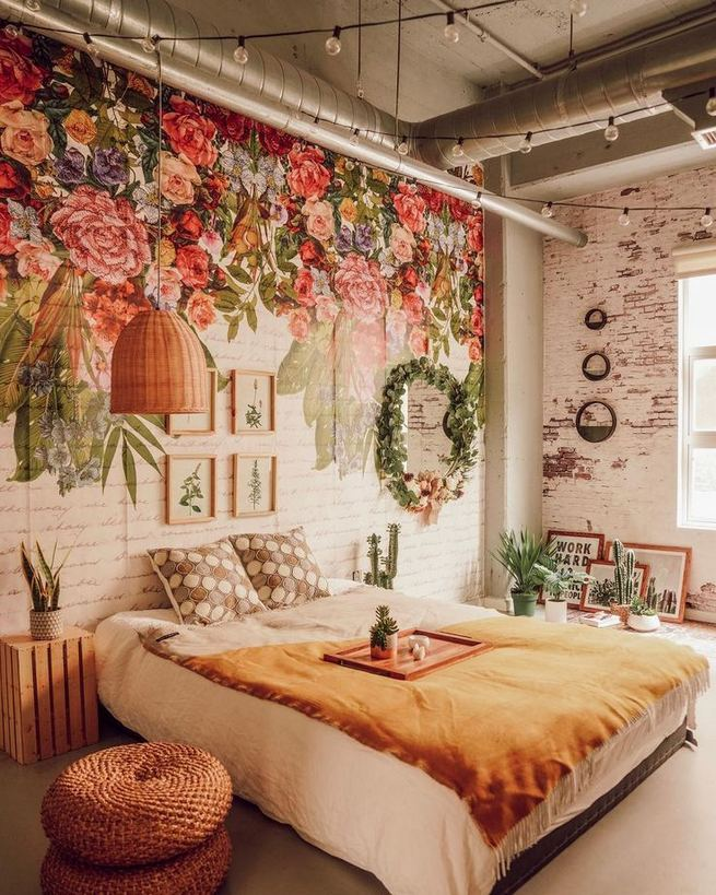 19 Creative DIY Bohemian Bedroom Decor Ideas 37