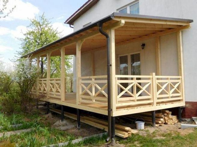 21 Stunning Farmhouse Front Porch Decor Ideas 06