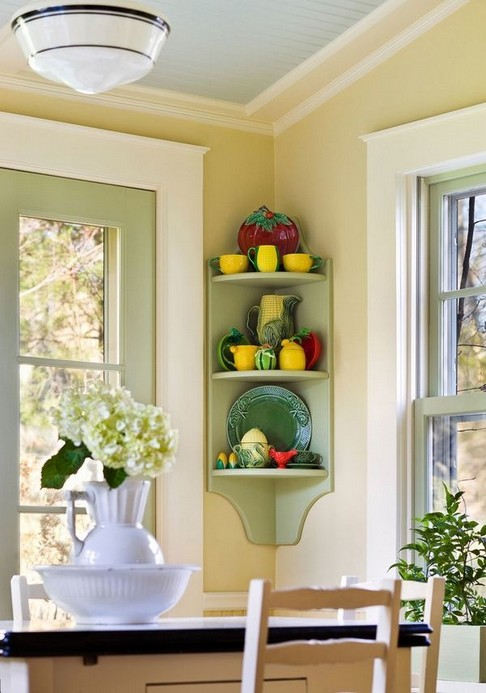 15 Amazing Corner Shelves Ideas 01