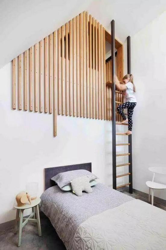 15 Extraordinary Loft Beds In One Room 06