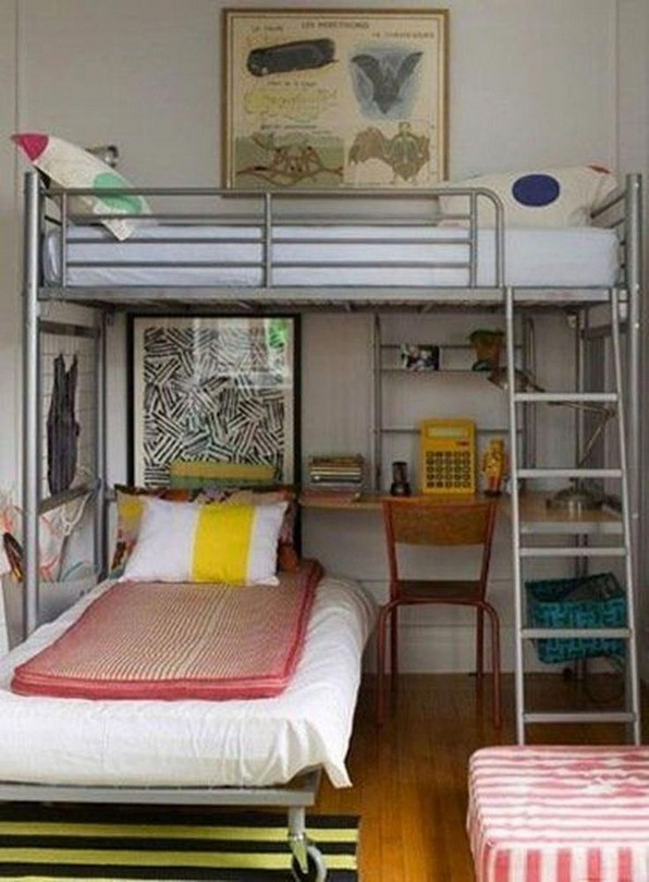 15 Extraordinary Loft Beds In One Room 12