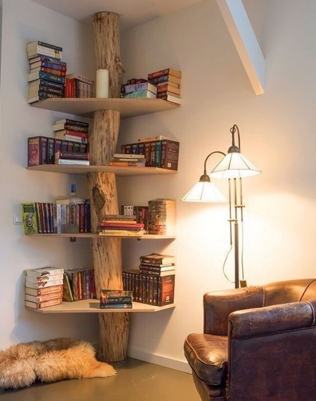 15 Unique Bookshelf Ideas For Book Lovers 11
