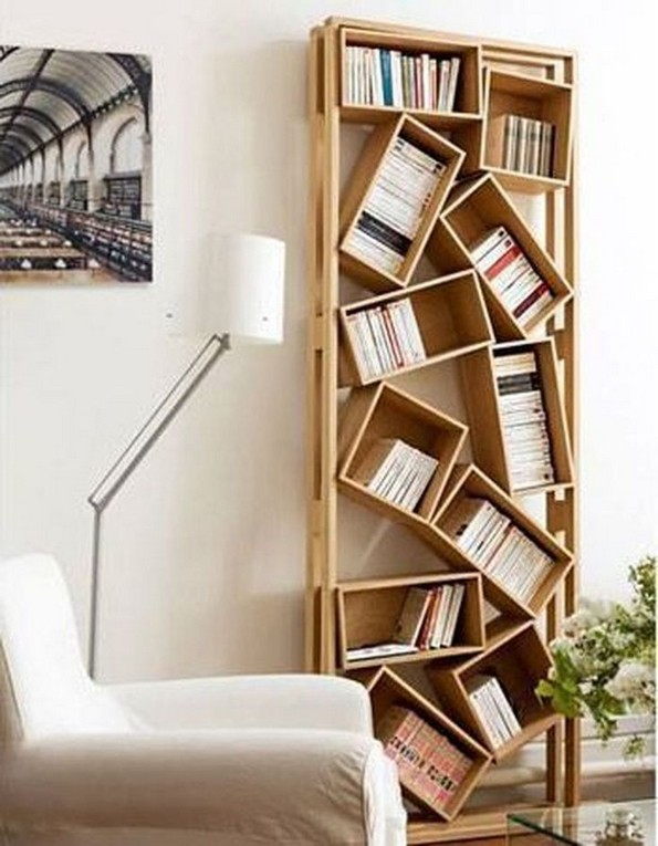 15 Unique Bookshelf Ideas For Book Lovers 20
