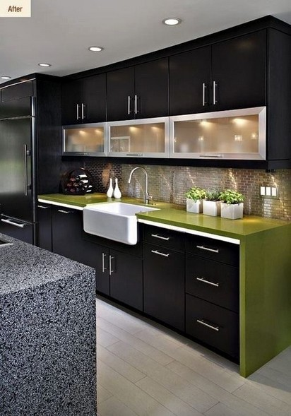 16 Amazing Modern Kitchen Cabinets Design Ideas 05