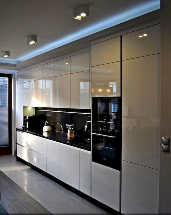 16 Amazing Modern Kitchen Cabinets Design Ideas 07
