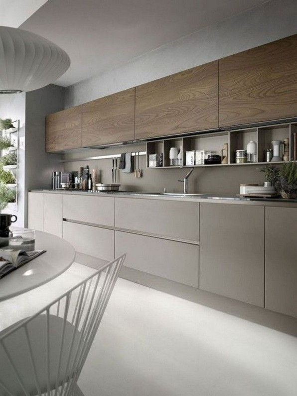 16 Amazing Modern Kitchen Cabinets Design Ideas 11