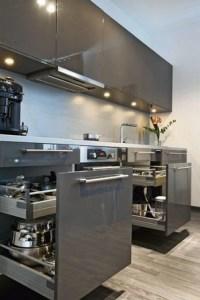 16 Amazing Modern Kitchen Cabinets Design Ideas 18