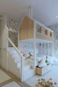 16 Best Choices Of Kids Bunk Bed Design Ideas 19