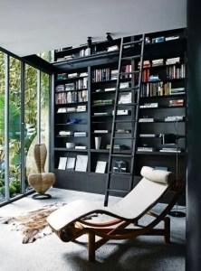 16 Fantastic Floor To Ceiling Bookshelves With Ladder 06