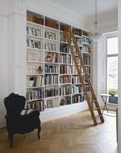 16 Fantastic Floor To Ceiling Bookshelves With Ladder 20