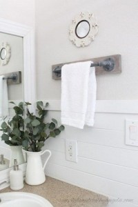 16 Models Bathroom Shelf With Industrial Farmhouse Towel Bar – Tips For Buying It 11