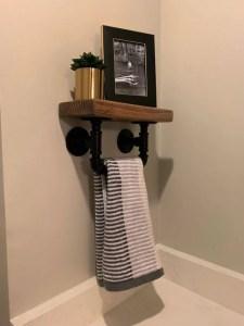 16 Models Bathroom Shelf With Industrial Farmhouse Towel Bar – Tips For Buying It 16