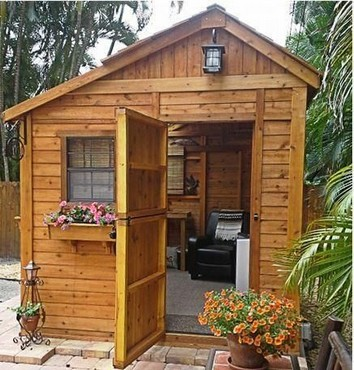 16 Modern Shed Design Looks Luxury To Complement Your Home 10