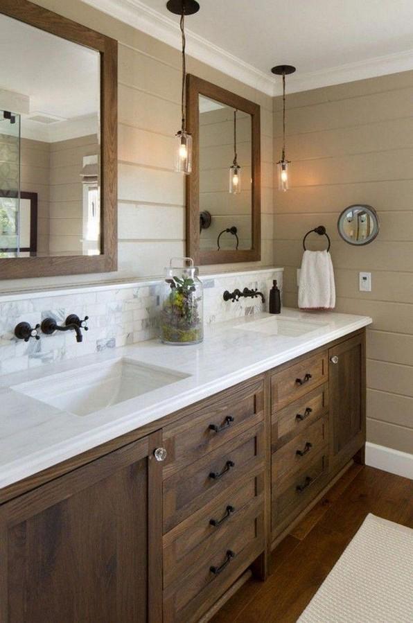 17 Best Of Modern Farmhouse Bathroom Vanity Decoration Ideas 01
