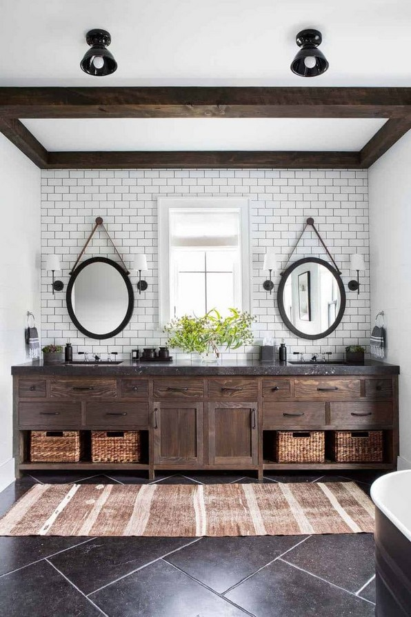 17 Best Of Modern Farmhouse Bathroom Vanity Decoration Ideas 06