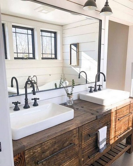 17 Best Of Modern Farmhouse Bathroom Vanity Decoration Ideas 16