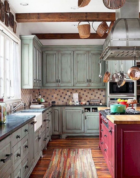 17 Best Rustic Kitchen Design You Have To See It 13