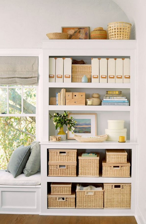 17 Bookshelf Organization Ideas – How To Organize Your Bookshelf 05