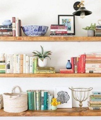 17 Bookshelf Organization Ideas – How To Organize Your Bookshelf 24