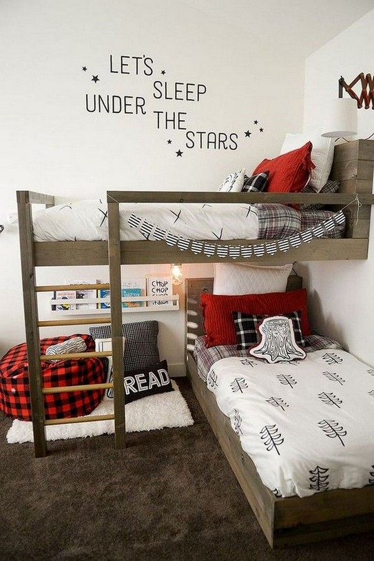17 Boys Bunk Bed Room Ideas 16